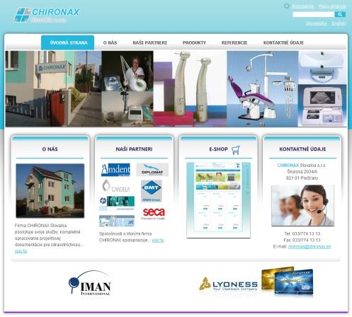 Chironax - Predaj a servis zdravotnickej techniky